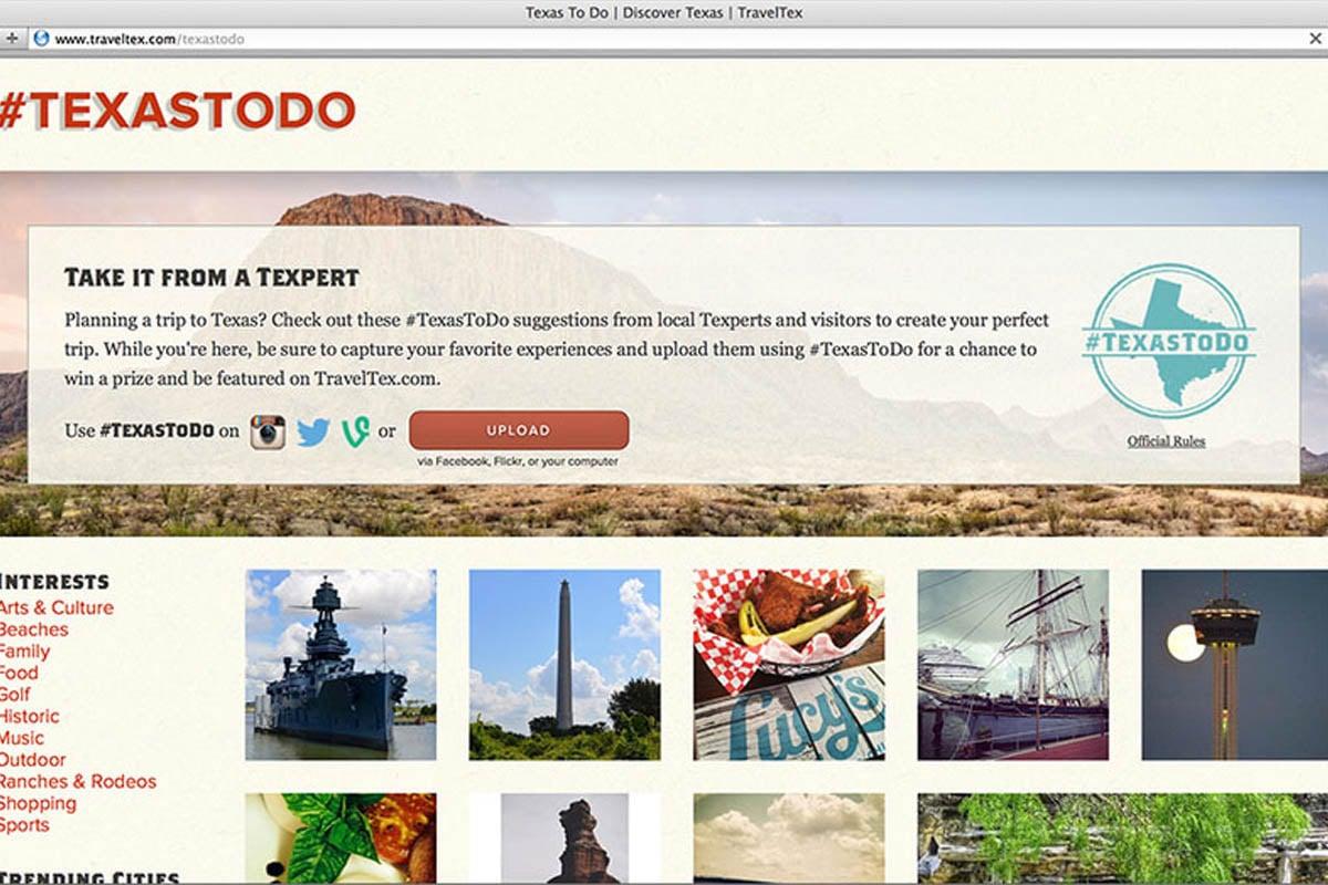 Texas Tourism Travel Marketing Case Study Texas To Do