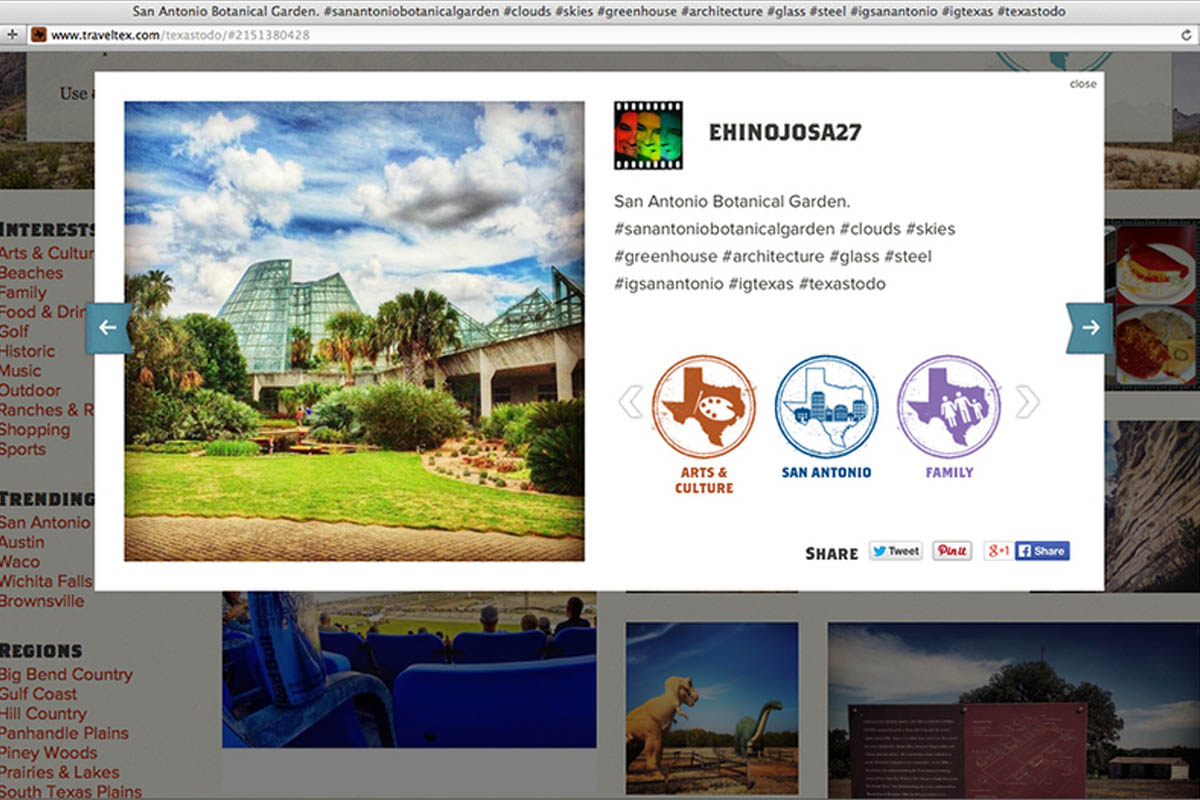 Texas Tourism Travel Marketing Case Study Texas To Do Social Posts