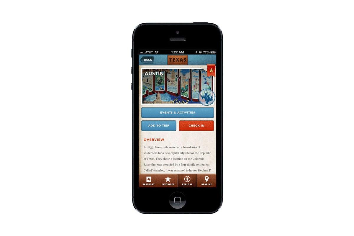 Texas Tourism Travel Marketing Case Study Texas Tourism App