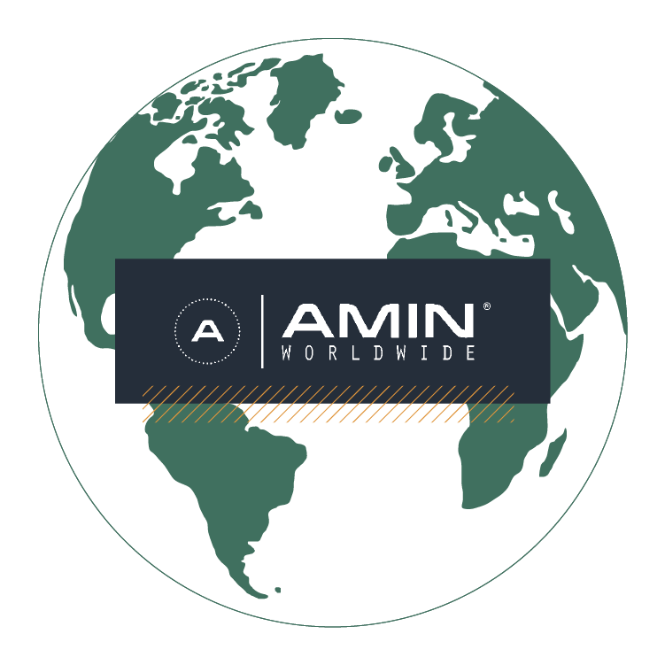 AMIN Worldwide Global Agency Alliance Logo